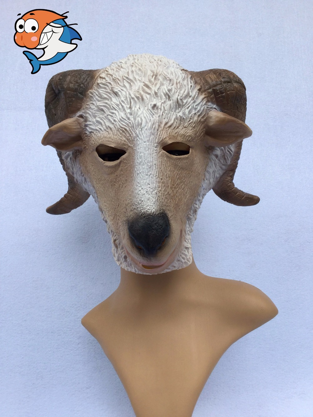 Popular Goat Mask Halloween-Buy Cheap Goat Mask Halloween lots ...