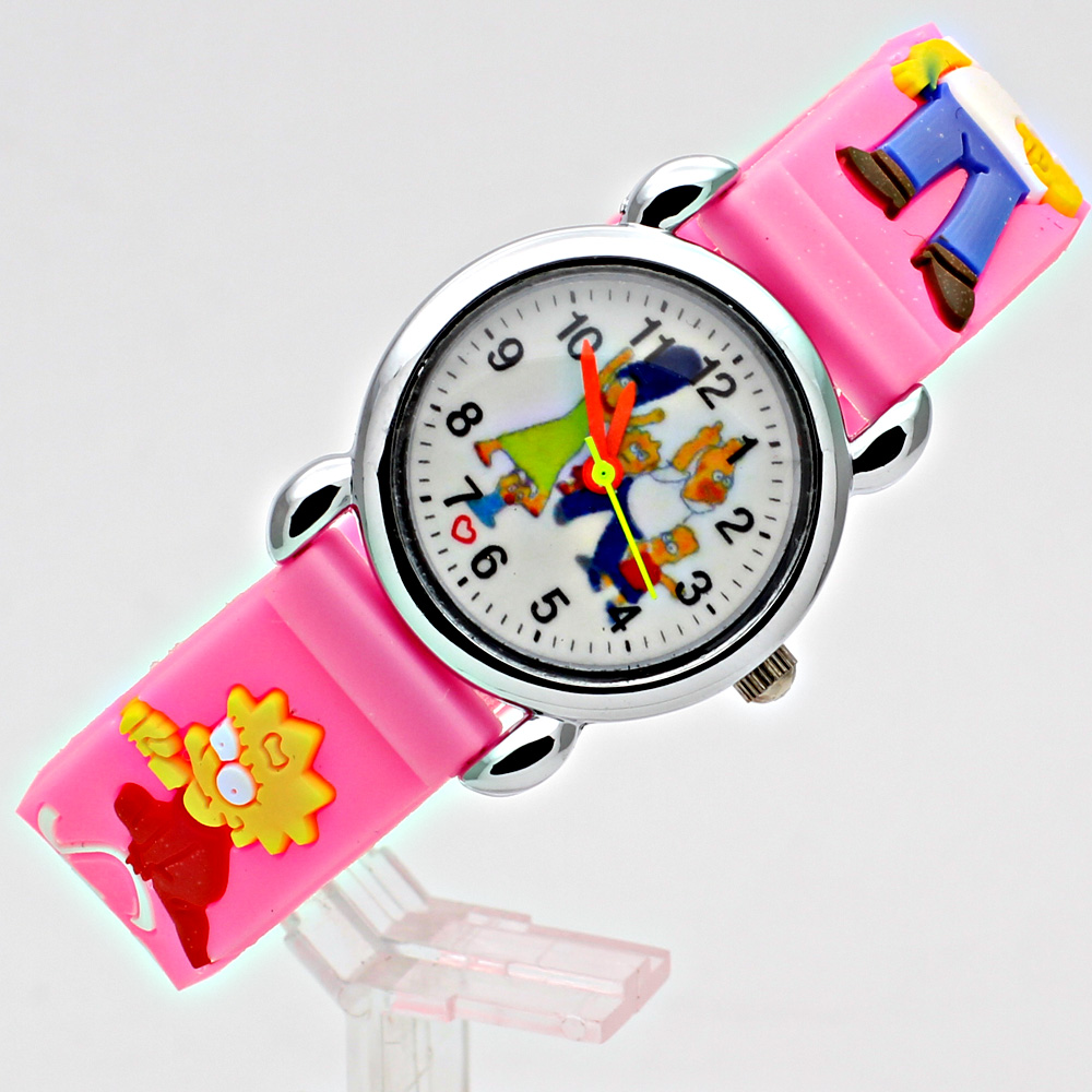 2018 Ny Silikone Candy Jelly Color Student Watch Piger Ur Fashion ure - Børneure - Foto 2