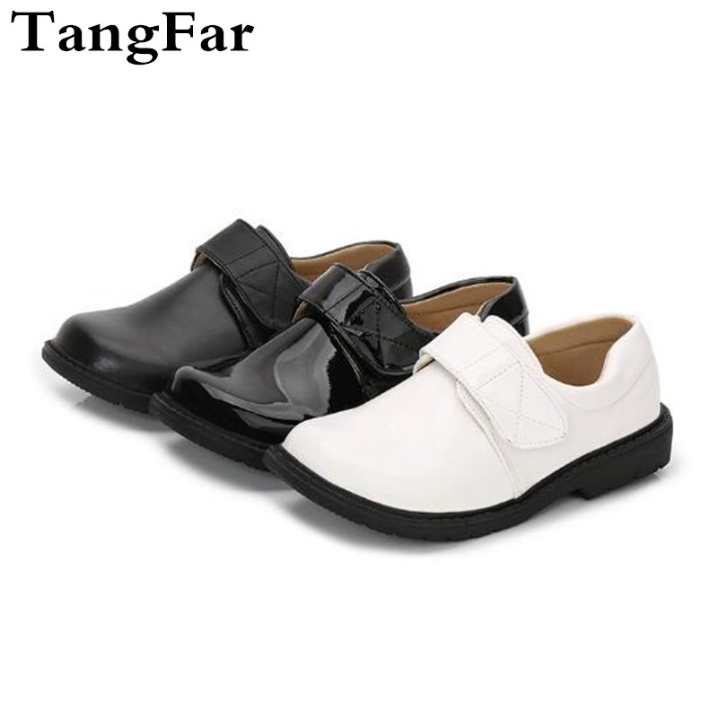 Children Boys Patent Leather Formal Dress Shoes For School Teens Kids Stage Perform Party Wedding Shoes Size 26-37Children Boys Patent Leather Formal Dress Shoes For School Teens Kids Stage Perform Party Wedding Shoes Size 26-37
