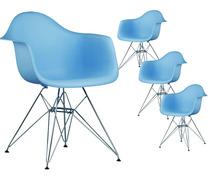 Modern Design Dining Armchair Plastic and Metal Steel Leg Dining Chair Modern classic popular fashion loft Armchair-4PCS SET tanie tanio Meble do jadalni Meble do domu Minimalistyczny nowoczesny Chiny z Stenzhorn Nowoczesne Y-024 800mm 61*62 5*79 5cm Plastikowe