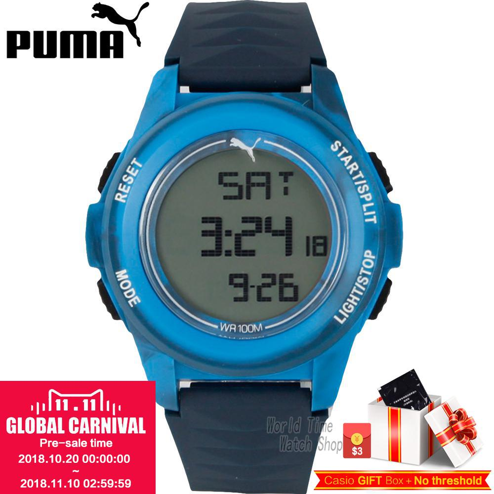 PUMA WATCH Vertical series of multi - functional electronic male watches PU911161005 PU911161006 PU911161003 PU911161002 puma watch unlimited series of quartz electronic movement male watch pu911261001 pu103461002 pu103461015 pu103931001 pu910541016