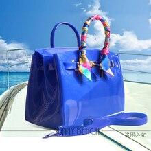 SUNNY BEACH Female fashion women handbag Shoulder bags Jelly bags PVC waterproof beach bag ladies bags