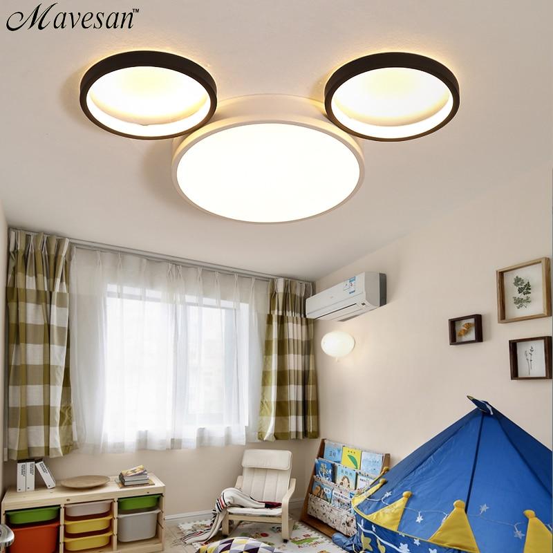 Macaron lustre dessin animé moderne Led lustre pour enfants chambre enfant chambre déco lustre éclairage lampe à Led luminaires