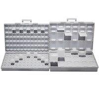 AideTek SMT Empty Box Enclosure Compartments Each W Lid SMD BOXALL144 BOXALL48
