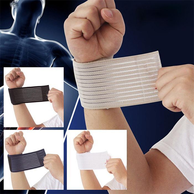 4 Color Fitness Strength Bandage Hand Wrist Straps Sport Wristbands Support Wrist Protector Carpal Tunnel Wrist Brace Gym Wraps