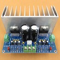 Бесплатная доставка AC12-32V 2.0 двухканальный TDA7293 100 + 100 Вт HIFI цифровой усилитель совета с кабелем
