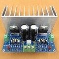 Frete grátis AC12-32V 2.0 channel TDA7293 100 + 100 W HIFI Digital Stereo amplificador de áudio Board com cabo