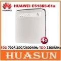 Desbloqueado huawei e5186 e5186s-61a cat6 300 100mbps lte wifi router 4g fdd 700/1800/2600 mhz tdd 2300 mhz inalámbrico cpe puerta de enlace