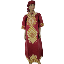 MD plus size african dresses for women bazin riche africa dress traditional long 2019 new womens clothing
