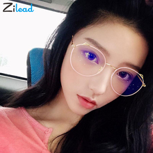 Zilead Cat Eye Men Women Retro Metal Frame Presbyopic Eyeglasses Anti Fatigue For Parents Unbreakable Classical Reading Glasses