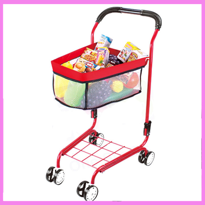 Children Play Simulation Supermarket Shopping Cart Baby Boys Girls Stroller Cart Pretend Play Toys Four Wheels Pushchair Trolley front grill mesh grill insert set cover front grille sticker racing grills trim for jeep wrangler jk 2007 2015