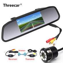 Najnowszy 4.3 Cal TFT LCD monitor widoku z tyłu samochodu dla kamera cofania CCD wideo wspomaganie parkowania samochodu cofania samochodu stylizacji