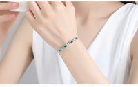 New high quality fashion S925 silver bracelet for couples gift LSG01