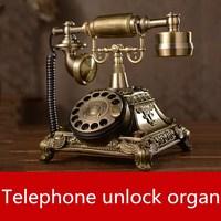 real life games escape room lock Telephone unlock organ props Smart phone horror game escape room game