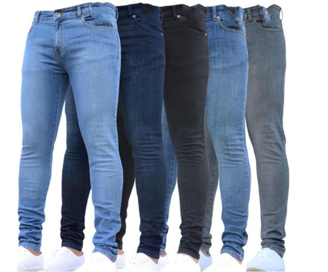 New Men's Pencil Pants Jeans Men size: 4XL|L|M|S|XL|XXL|XXXL