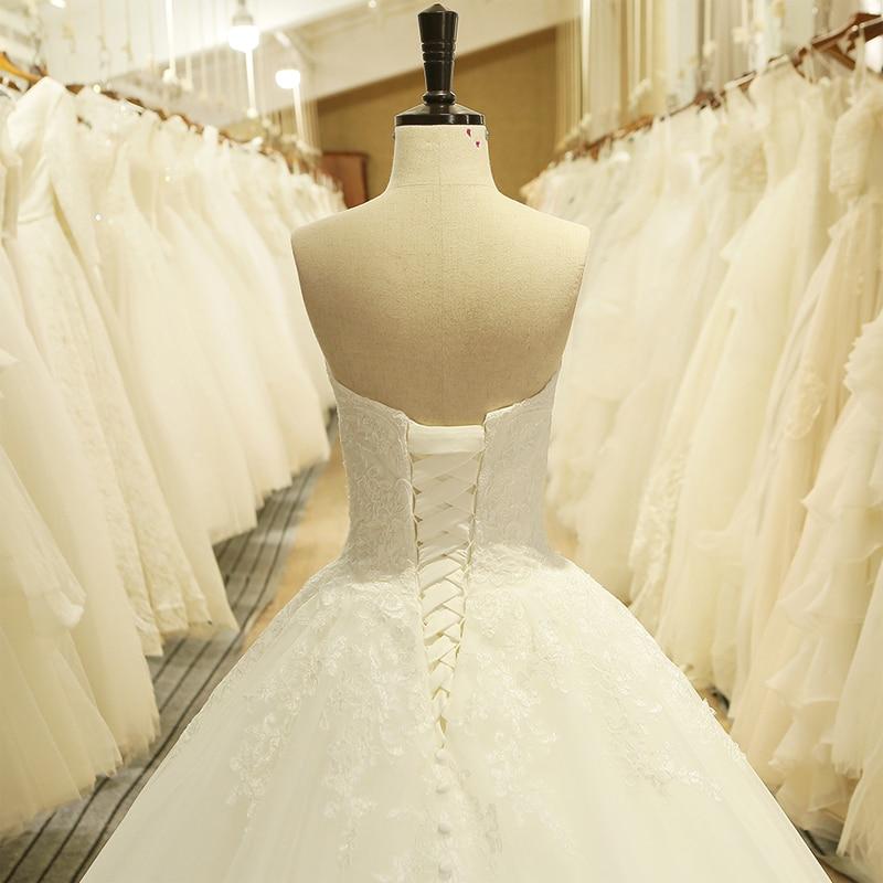 Élégante Dentelle Formelle Blanc Femmes Custom Robe parole Robes Appliques Mariée Nouveau Bretelles Longueur Pur Sans Made De Bal gzwqBRv