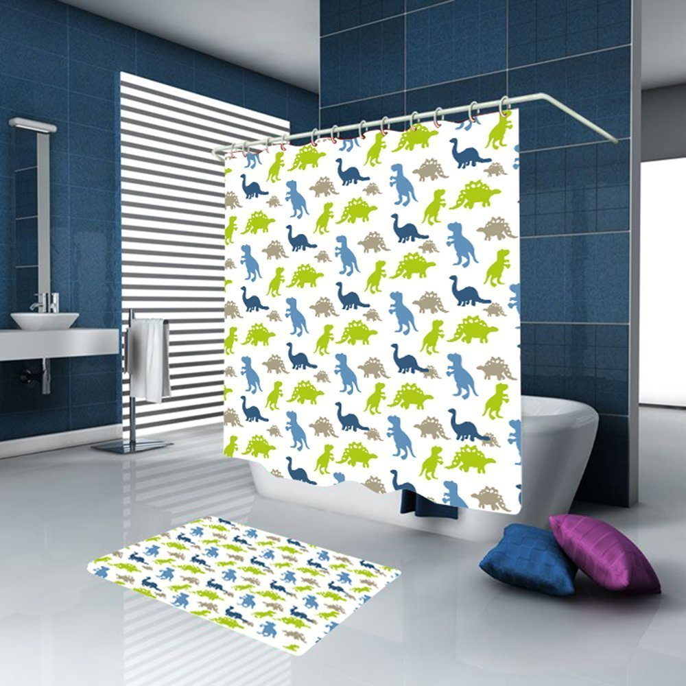 Memory Home Bambini Dino Park Bathroom Set Waterproof
