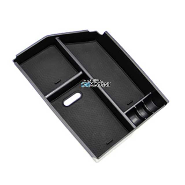 Car Organizer for Mercedes Benz GLS GLE Class/ Coupe Central Armrest Storage Box Container Holder Tray Accessories Car Styling