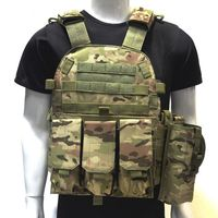 Tactical Vest Military Airsoft Gear Army Hunting Combat Bady Armor Outdoor Sport Painball Shooting Protective Vest Plate Carrier