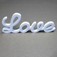 Customize any Wood Conjoined words Wooden white Letters Alphabet name Birthday Gift Bridal Wedding Party Home Decorations gifts