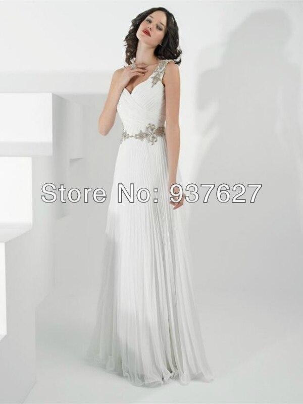 Vestidos modernos color blanco