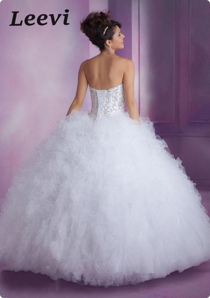 Aliexpress.com : Buy Elegant Baby Blue Sweet 16 Dresses White Two ...