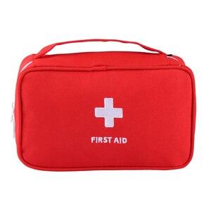 Image 1 - แบบพกพา Plus ขนาดกันน้ำ First Aid Bag Camping กระเป๋าบ้านกรณีฉุกเฉินทางการแพทย์ทางการแพทย์แพคเกจ