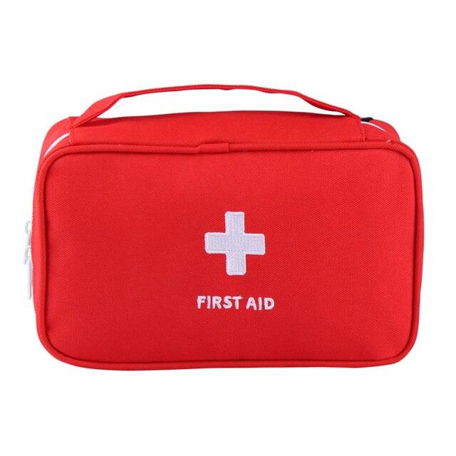 แบบพกพา Plus ขนาดกันน้ำ First Aid Bag Camping กระเป๋าบ้านกรณีฉุกเฉินทางการแพทย์ทางการแพทย์แพคเกจ