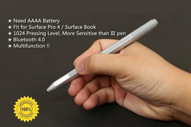 Подлинная Стилус для Microsoft Surface Pro 4 и Поверхности Книга-Беспроводная Связь Bluetooth