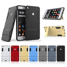 For Xiaomi Mi MAX 2 Iron Man Armor Silm Phone Case 2 in 1 Shockproof Cover For Xiaomi Max2 Holder Stand Case 100pcs/lot (OS1011)(China)