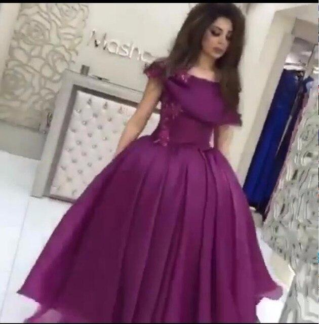 News Prom Dresses for party wear vestido de festa o neck puffy gown elegant  high quality Evening dresses Pageant Women Wear a37f3de12