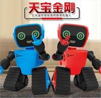 Chiger Intelligente Programmering Robot Touch/remote/voice Control Sensing USB Charge interactieve RC Speelgoed Verjaardagscadeau voor Kinderen|Speelgoed Telefoons|   -