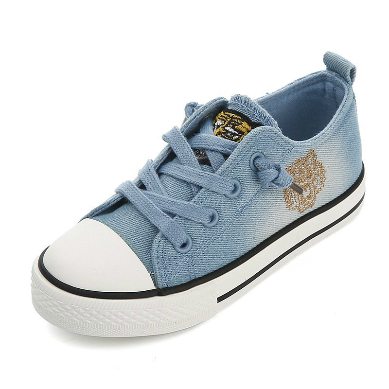 Детская обувь для девочек дышащие кроссовки 2018 Демисезонный модная детская одежда обувь ковбоя для мальчиков ткани ребенка повседневная о...
