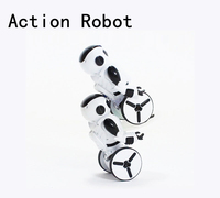 Free Shiping NEW Hot Sale JXD KiB RC Robot Intelligent Balance Wheelbarrow Dance Gesture Battle Electric