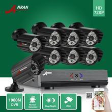 ANRAN 1080N P2P 8-КАНАЛЬНЫЙ AHD DVR HDMI 1800TVL 720 P Водонепроницаемый Открытый 48 ИК Главная Безопасность Видео Система Видеонаблюдения