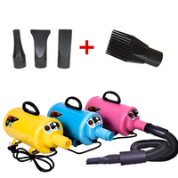 Puff And Fluff Cat Dog Dryer Summer Blower Pet Fast Hair Easy Low Noise Professional Grooming Bath Tool