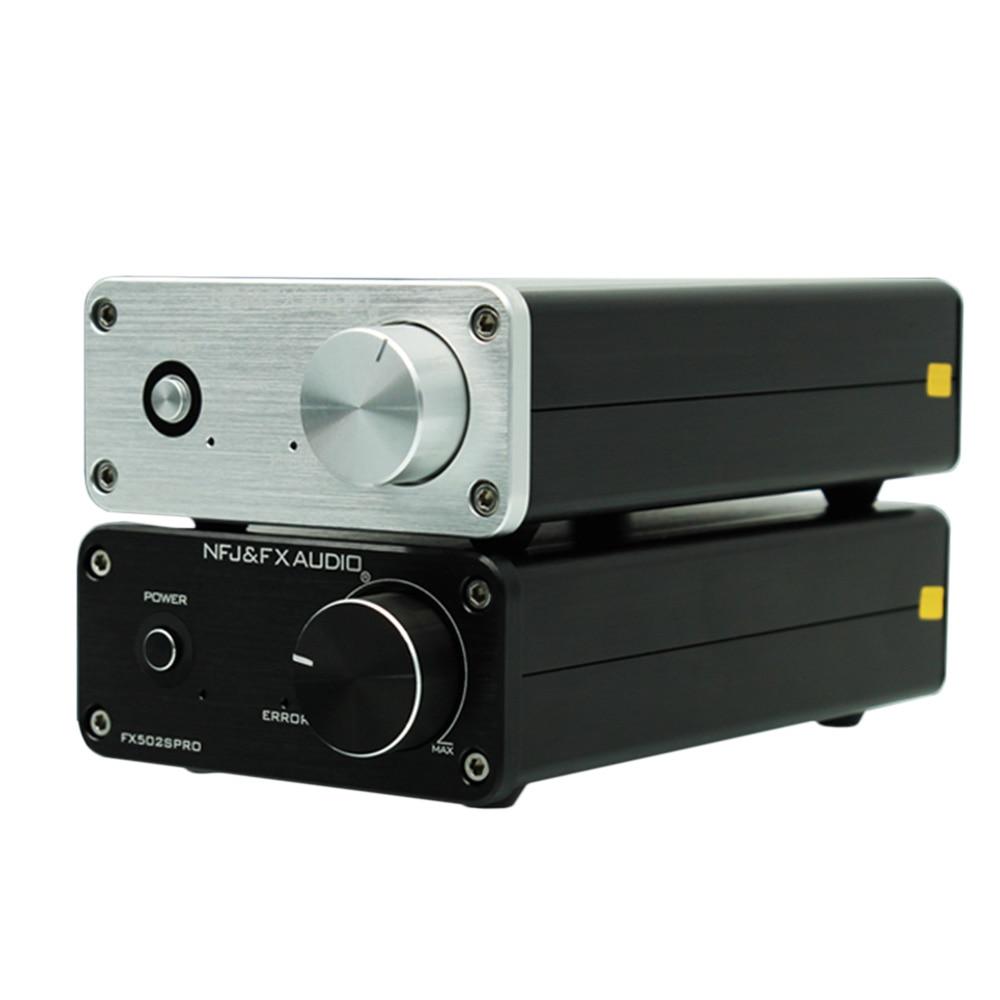 FX-Audio FX502SPRO Digital de alta potencia amplificador HIFI 2,0 casa Mini profesional Amp TPA3250 NE5532 70 W * 2 4-8Ohm con enchufe