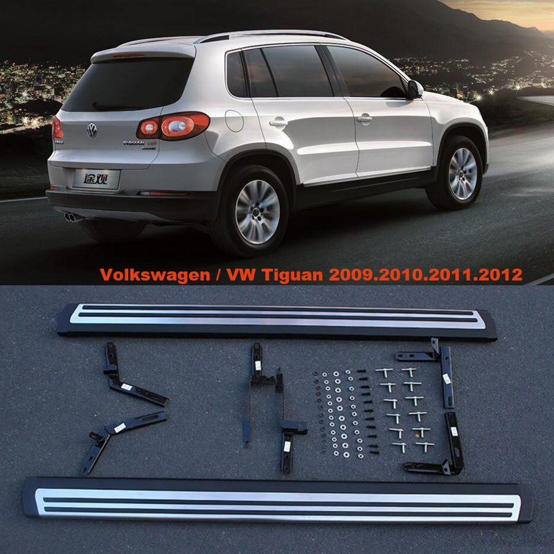 For Volkswagen VW Tiguan 2009.2010.2011.2012 Car Running Boards Auto Side Step Bar Pedals High Quality Original Design Nerf Bars