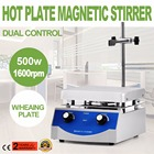 3000ml Stirring Capacity Magnetic Stirrer Kit Magnetic Stirrer 6.7 x 6.7 Inch Heating Plate Magnetic Stirrer Hot Plate