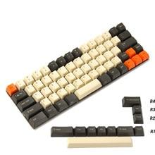 YMDK פחמן 64 68 Minila Keyset עבה PBT OEM פרופיל Keycaps עבור Filco Minila YD60M XD64 GK64 Tada68