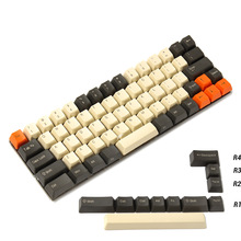 Ymdk chaves de fio para filco minila yd60m xd64 gk64 tada68, carbono, 68 minila