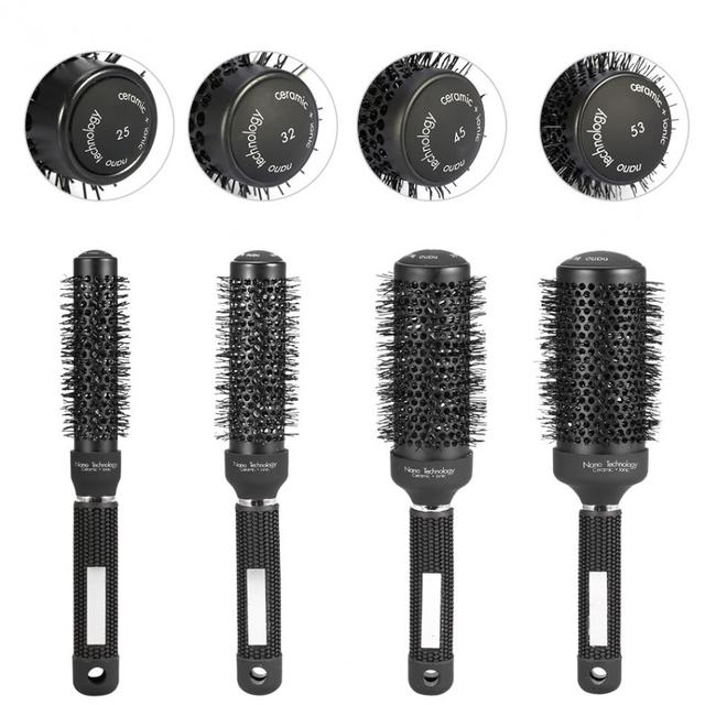 Professional Hair Comb Hairbrush Anti Static Ceramic Combs Barber Salon Tools Styling Abody