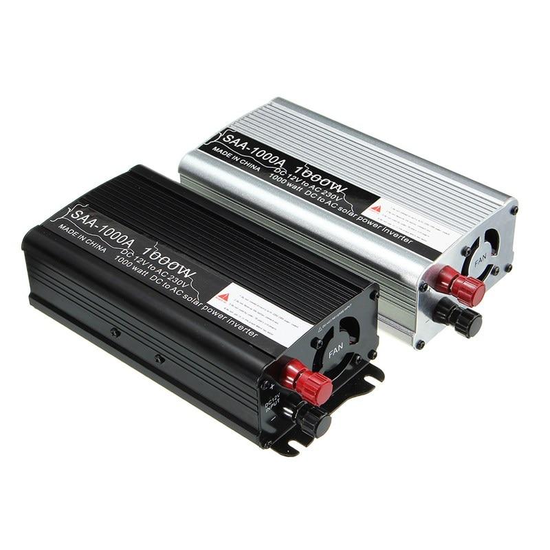 цена на Best Price Inverter 12V 220V 1000W Auto Modified Sine Wave Voltage Transformer Solar Power Inverter Converter Car Charge USB