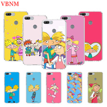 Hey Arnold Art Printing Protect Phone Case for Huawei Honor 8X 8S 7A 7S 9 10 Lite 8A 20i V20 Y5 Y6 Y7 Y9 2019 Cover Coque
