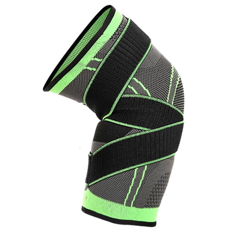 3D Weaving Straps Pressurized Sports Knee Pads Basketball Tennis Hiking Dizlik Knee Guard Brace Support Professional Protector