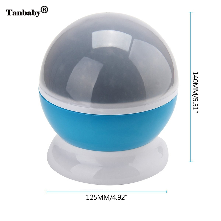Tanbaby Star Moon Sky Rotation automatique Rêve LED Night Light - Veilleuses - Photo 3