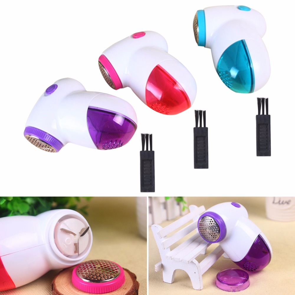 Electric Lint Remover Clothes Fluff Fabric Sweater Shaver Household Mini Tool
