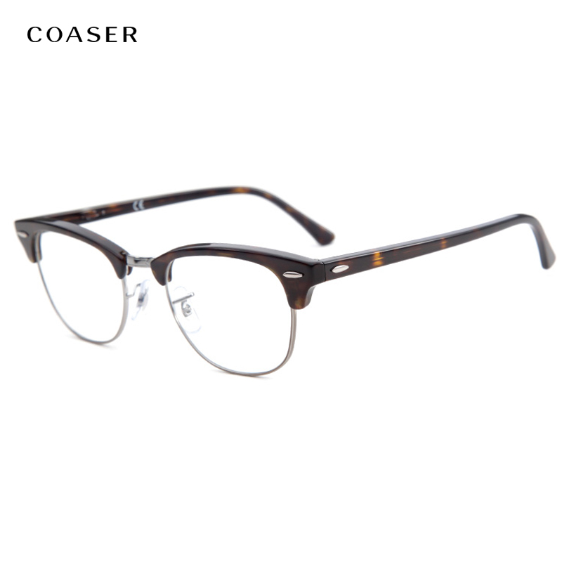 Vintage Round Metal Frame Glasses Men Women Fashion Brand