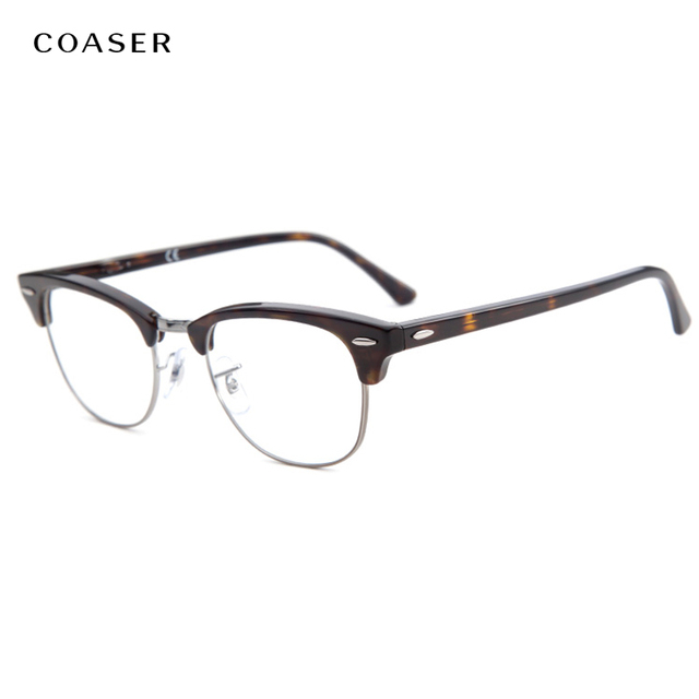 Vintage Round Metal Frame Glasses Men Women Fashion Brand Designer ...