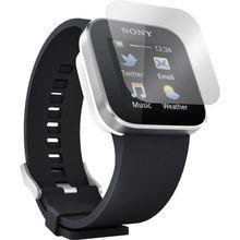 5 stücke clear lcd screen protector hülle film mit reinigungstuch für sony smartwatch